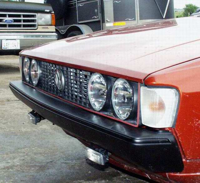 Mk2 Scirocco with Mk1 Headlights